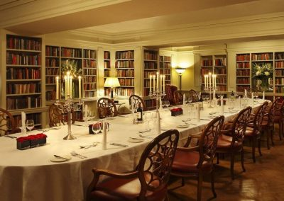 The-Bloomsbury-Hotel- Library
