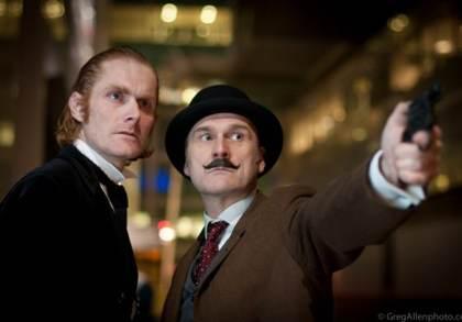 Sherlock Holmes Murder Mystery actors