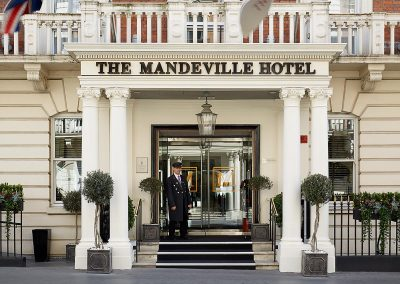 The Mandeville Hotel Murder Mystery Venue Entrance