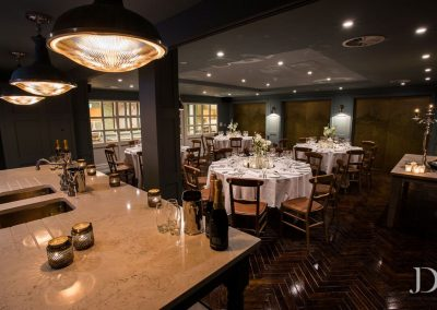 Large Hub Private Dining Room At King Street Townhouse Manchester