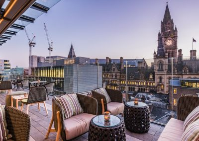 King Street Townhouse South Terrace At Sunset