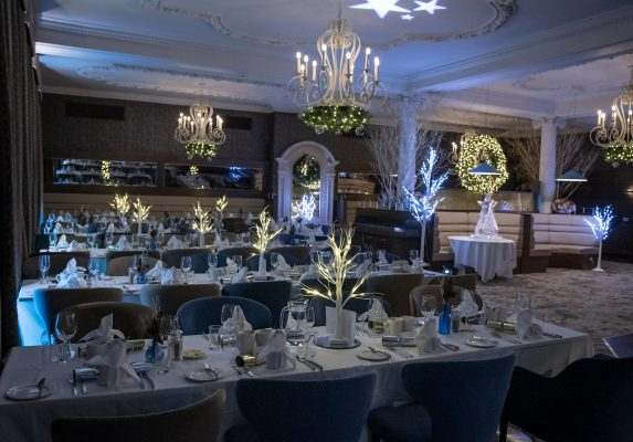 Christmas at Palette Restaurant in the Rembrandt