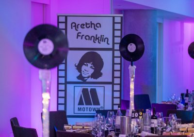 Motown Christmas Party Decoration