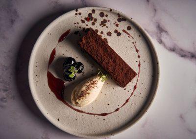 Malmaison Chocolate Dessert