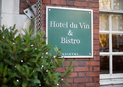 Hotel du Vin Bristol Plaque